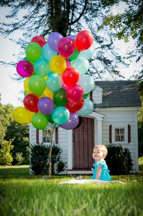 Yr4•343-365•Smile & Balloons