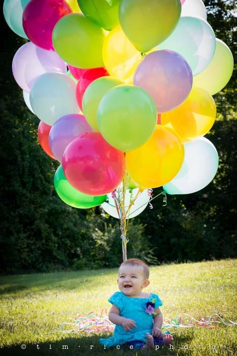Yr4•344-365•Smile & Balloons