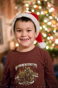 Yr5•085-365•1546•Family in Santa Hats