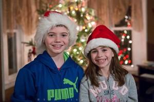 Yr5•086-365•1546•Family in Santa Hats