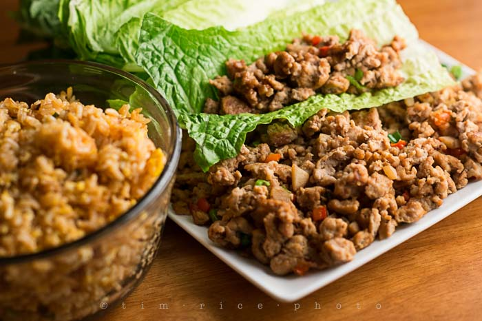 Yr5•105/365•1566 Asian Chicken Lettuce Wraps January 13, 2014