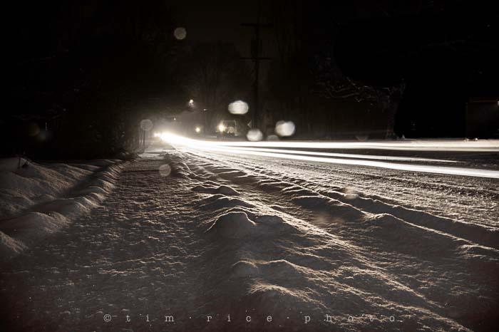 Yr5•113/365•1574 Snow Lit January 21, 2014