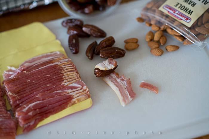 Yr5•119-365•1580•Stuffed Dates Bacon