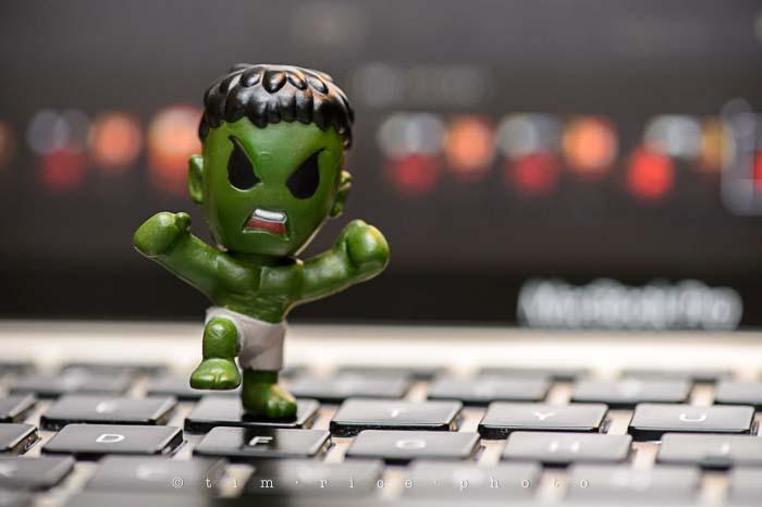 Yr5•156/365•1617 Hulk Smash… Keys