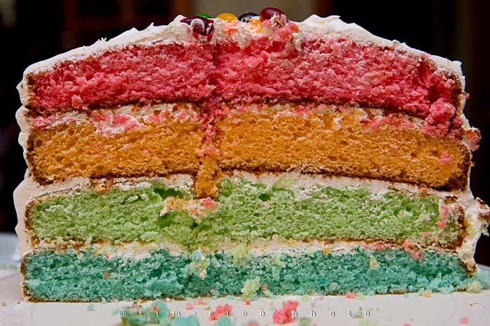 Yr5•203-365•1662•Rainbow Cake