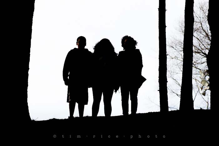 Yr5•206/365•1667 Family Silhouette April 25, 2014