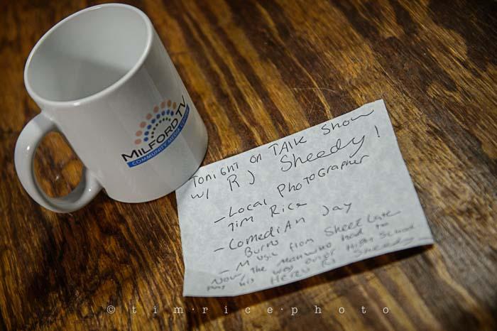Yr5•241-365•1690•Talk Show with RJ Sheedy