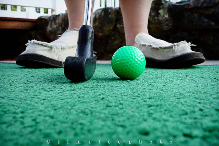 Yr5•294/365•1755 Mini Golfer July 22, 2014