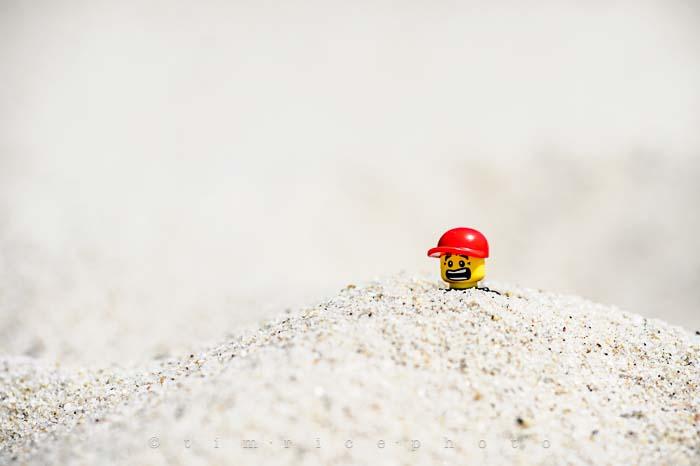 Yr5•295/365•1701 Sand Legoboy July 23, 2014