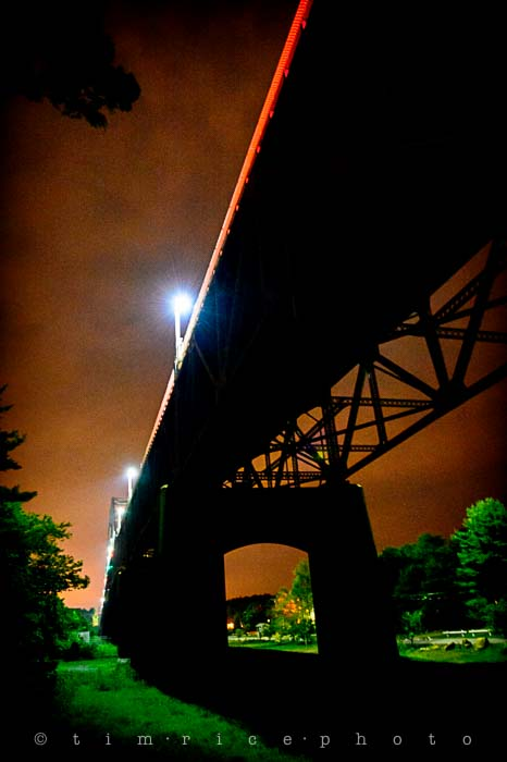 Yr5•319/365•1780 Bridge Under Dark August 17, 2014