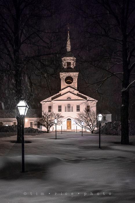 Yr6•152-365•1978•Church in Snow