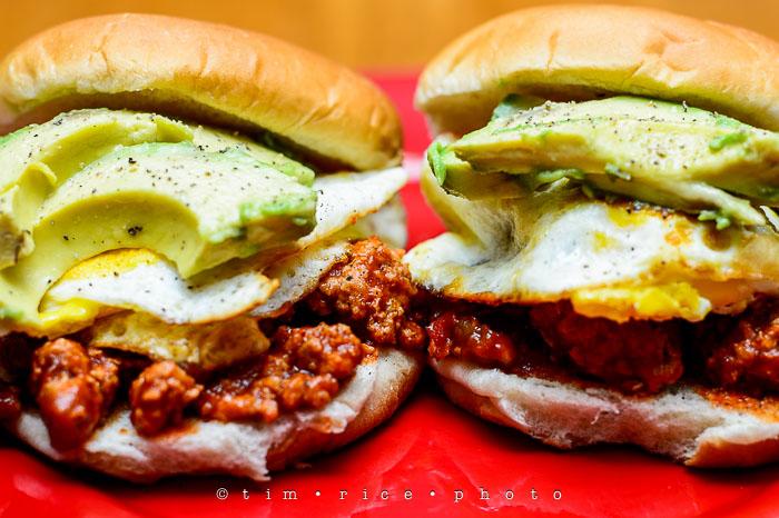 Yr6•205-365•2031 Joe's Sloppy Turkey with Avocado & Egg April 23, 2015