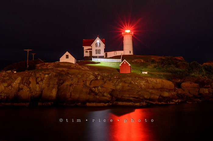 Yr6•298/365•2124 Nubble at Night July 25, 2015
