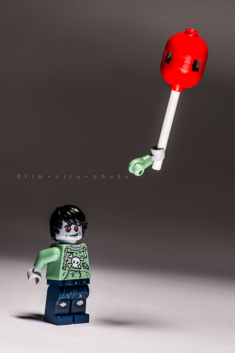 Yr7•026/365•2217 Lego Zombie Loses Balloon October 26, 2015