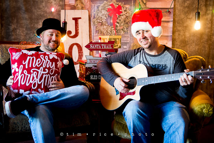 Yr7•083/365•2272 Justin & Ray Christmas Greetings December 21, 2015